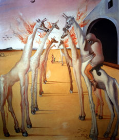 Salvador Dalí (after) - The Flames, They Call