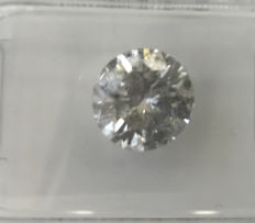 2.00Ct  Round Brilliant-Cut  Diamond Natural  color F Si3 +++Low   Reserve Price +++