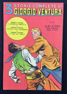Albi d'Oro - Giorgio Ventura collection - Brick Bradford nos. 135, 140 and 143 (1950)
