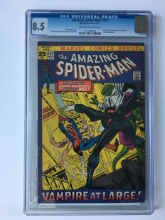 Marvel Comics - The Amazing Spider-Man #102 - CGC Graded 8.5 High Grade - 1x sc - (1971)