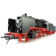 """Gauge 0 - Lenz - 40240 - 01 - Steam locomotive with tender Series BR 24 """"Steppes Horse"""" of the DB"""