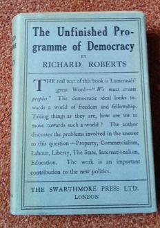 Richard Roberts - The unfinished programme of Democracy - no date