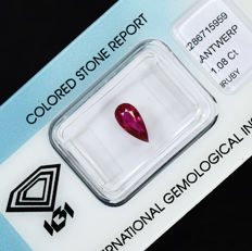 Ruby - 1.08 ct