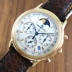 Jaeger Le Coultre Moonphase Chronograph ref. 16573 Men's Watch