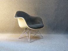 Charles & Ray Eames for Herman Miller (Fehlbaum) - arm chair on original cradle base, model LAR
