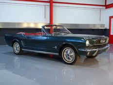 Ford - Mustang Cabrio mit Verdeck 200 cuin (3,3 l) I6 - 1966