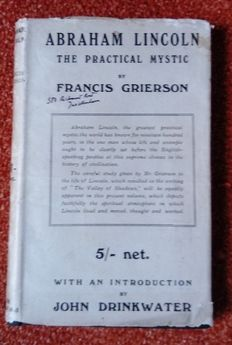 Francis Grierson - Abraham Lincoln, the Practical Mystic - 1919