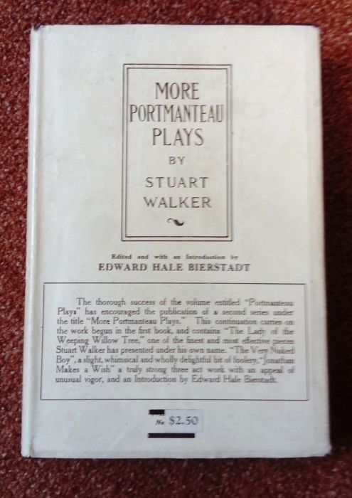 Stuart Walker - More Portmanteau plays - 1919