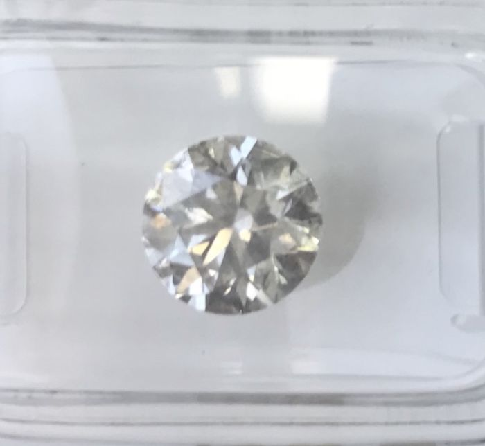 2.21Ct  Round Brilliant-Cut  Diamond Natural  color E Si3 +++Low   Reserve Price +++