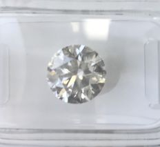 2.50Ct  Round Brilliant-Cut  Diamond Natural  color E Si3 +++Low   Reserve Price +++