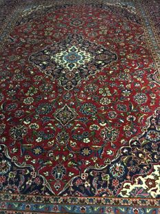 Hand-knotted Persian KASHAN! approx. 305 x 404 - circa 2000 - PERSIA