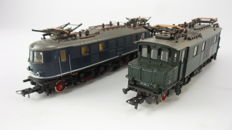 Roco H0 - 4144S/4141B - Electric Locomotives Series BR 104 and BR 118 of the DB