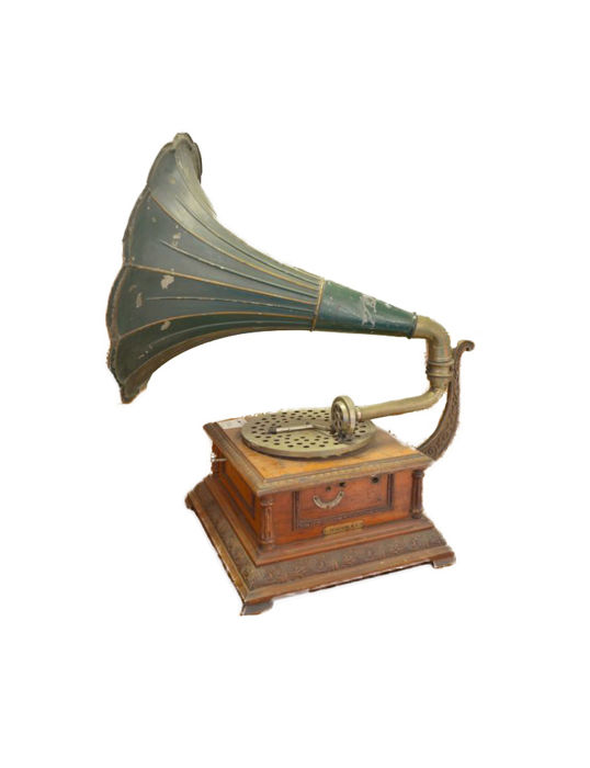 Gramophone Pathephone model no. 8 - period 1910