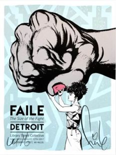 Faile - Size of the Fight Show Print
