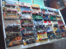Collection - brewery trucks and advertising trucks, some classic cars and rarities, 72 parts