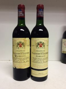 1988 Chateau Malescot-St-Exupery, Grand Cru Classe Margaux, France - 2 bottles 0,75l