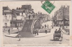 Very good lot of 120 old postcards of France