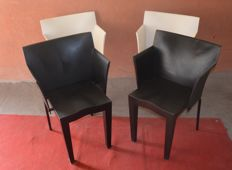 Philippe Starck for Kartell - Four Super Glob armchairs