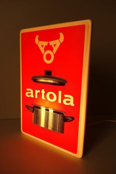Artola pans small light box - circa 1975