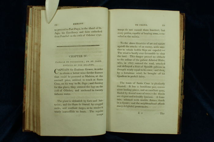 Sir George Staunton and Lord Macartney - An Historical Account of the  Embassy to the Emperor of China - 2 volumes - 1797 - Catawiki