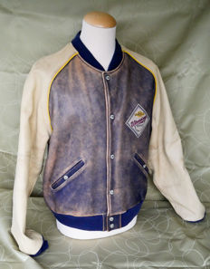 "Harley Davidson - ""Grand National Champion"" - Leather motorcycle jacket - Size XXL"