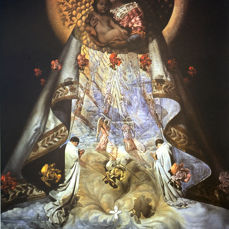 Salvador Dalí (after) - The Virgin of Guadalupe
