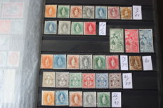 Switzerland 1882/1907 - selection of stamps between Michel 58/94