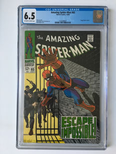 Marvel Comics - The Amazing Spider-Man #65 - CGC Graded 6.5 - 1x sc - (1968)