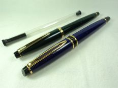 Waterman and Cross Rollerball pen lot  - 2 pieces pen