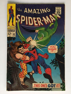 Marvel Comics - The Amazing Spider-Man #49 - 1x sc - (1967)