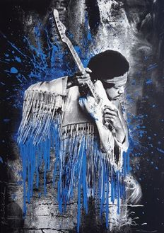 Mr Brainwash - Jimi (Blue)