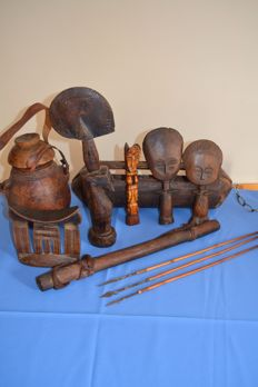 Lot of African Art from different tribes and countries