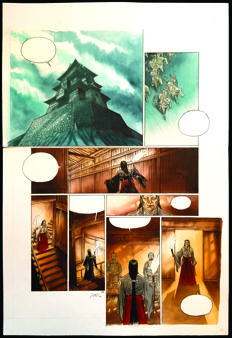 Jung - Original Direct Colour Plate (p. 28) - Kwaidan Volume II - Setsuko