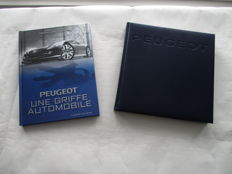 2x car books PEUGEOT Highlights and Peugeot Une Griffe Automobile