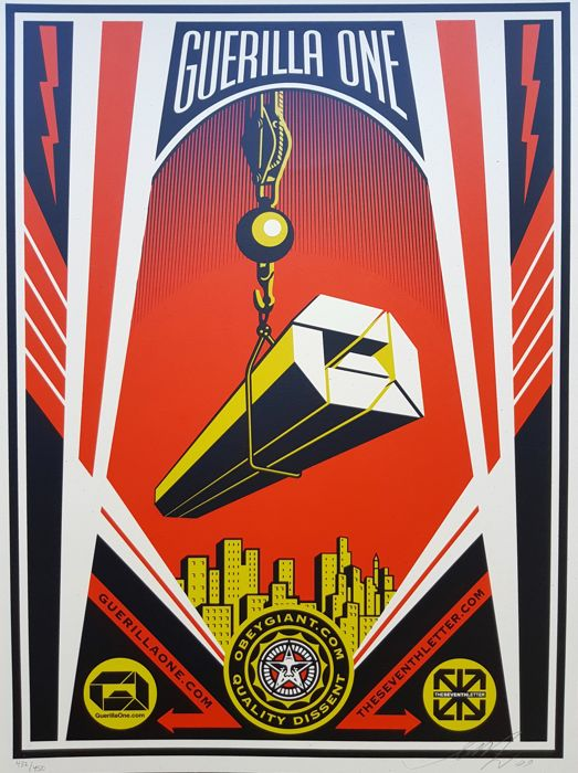 Shepard Fairey (OBEY) - Guerilla One