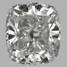1.01ct  Cushion Modified Brilliant  H VS1  IGI - SEALED-original image #1926