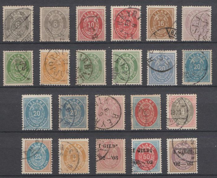 Iceland, 1876-1902 - selection classic