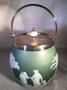 Wedgwood cookie jar