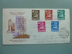 The Netherlands - Collection of FDCs, precursors and covers with particular stamping