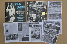 "2 rare unofficial albums  ""In the Park - He is not dead...!"" & ""Mick Jagger - Free concert Hyde Park"""