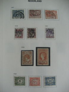 The Netherlands, 1898-2000 - collection of postage stamps and postage-due stamps