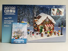LEGO Certified Professional - Christmas Elf Café with Christmas card