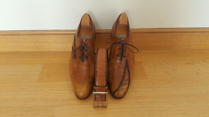 Berluti - Hand Made Shoes & Belt