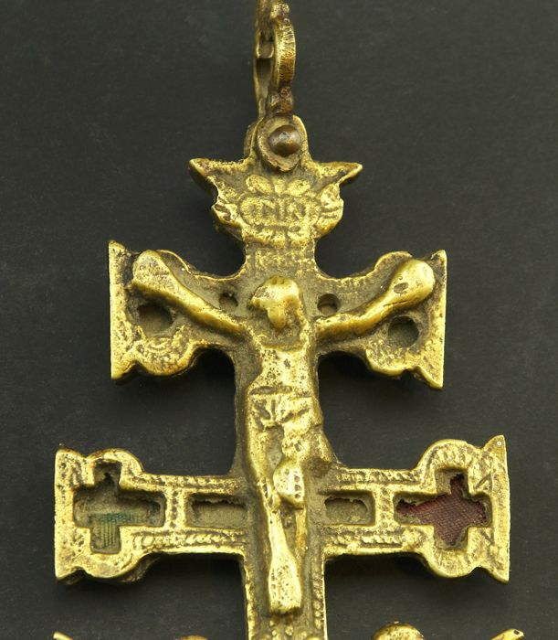 Antique bronze cross of caravaca from the 16th17th century catawiki antique bronze cross of caravaca from the 16th17th century mozeypictures Choice Image
