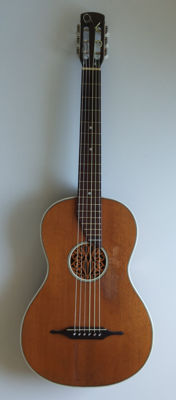 "EDELKLANG guitar with label ""Peter Renk"" - early 1900"