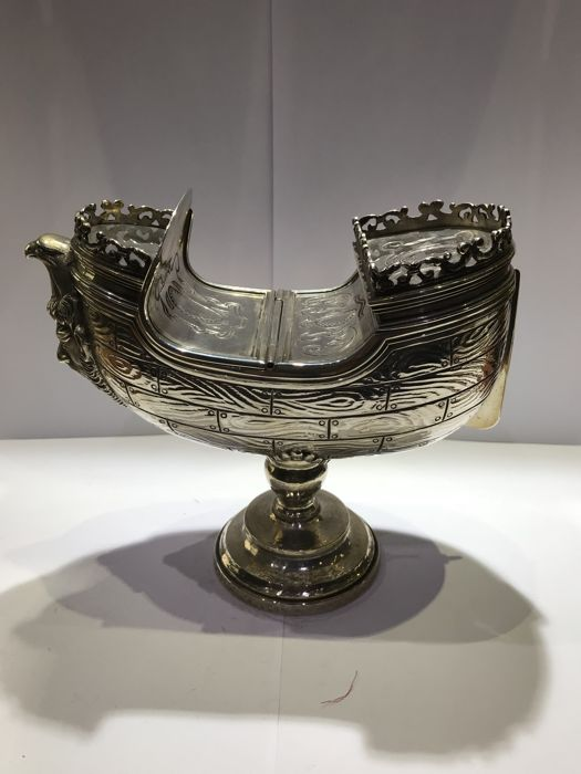 A naveta in silver - Spain - end 20th century