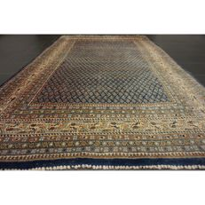 Magnificent hand-knotted Persian carpet Sarouk Mir – 255 x 170 cm – made in Iran – best highland wool