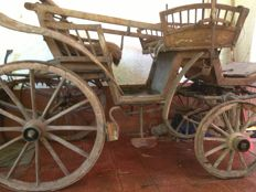 Lot of 19th century carriage