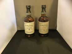 2 bottles - Balvenie 14 years old Peat Week & Balvenie 14 years old Peated Triple Cask