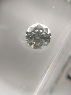 0.63 ct Round cut diamond G SI1